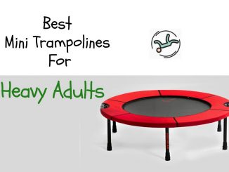 mini trampoline for heavy adults