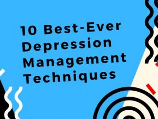 depression management techniques
