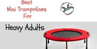 mini trampoline for heavy adults