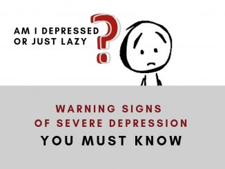 warning signs of severe depression