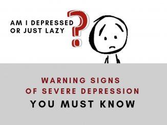 warning signs of severe depression