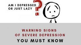 am i depressed or lazy