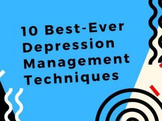 depression management techniques